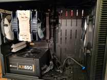 Power supply unit and motherboard