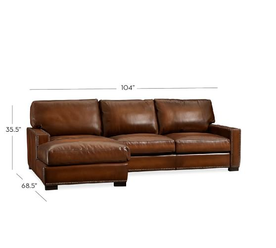 Sofa Leather And Chaise