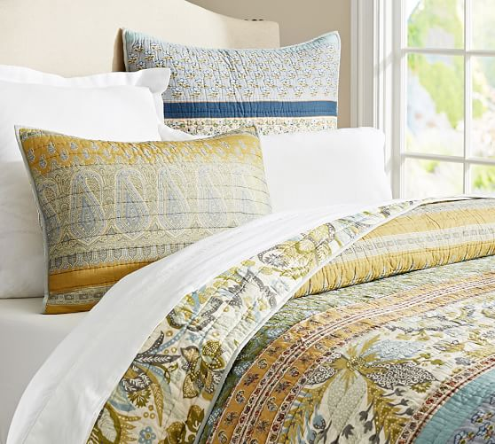 Pottery Barn Quilts And Comforters
