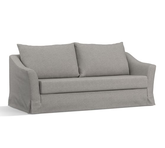Image Result For Somady Slope Arm Sleeper Sofa Mattress Pad Moleskin Smoke