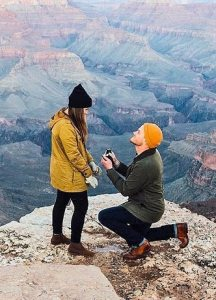 valentine day Mountain-Top-Proposal