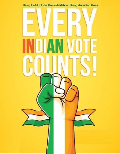 25 January National Voters Day Whatsapp DP Wallpaper