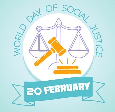 Best World Social Justice Day Drawing Poster images Banner Photo