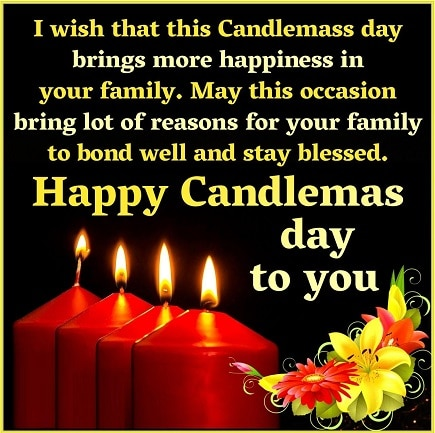 Happy Candlemas Day Greeting Card Photo Pics images