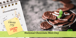 National Chocolate Mint Day FB Profile Picture Cover Photo Stories