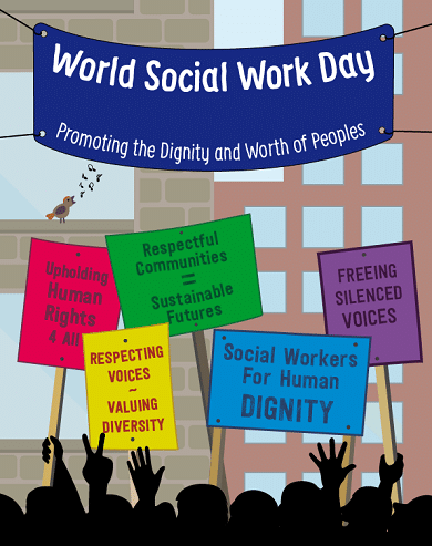 World Social Work Day Facebook Profile Picture Cover Photo Stories
