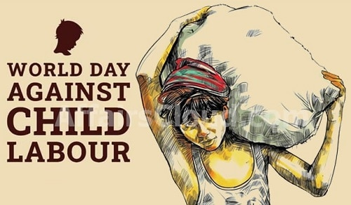 Anti Child Labour Day images Photo Child Labour Poster Drawing Banner