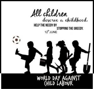 June 12 Child Labour Day Poster Banner World Child Labour Day images