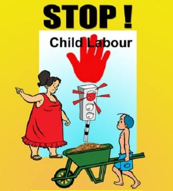 Poster on Anti Child Labour Day World Day Against Child Labour images