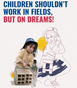 Stop Child Labour Poster Drawing World Day Against Child Labour Poster