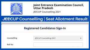 JEECUP Counselling