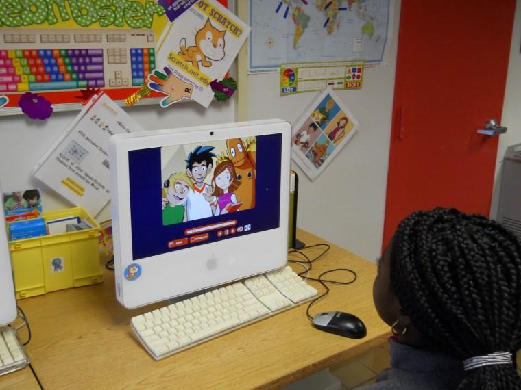 Jackson-Via ESL student with BrainPop ESL