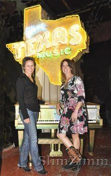 Paula Rivers and Janet Krueger