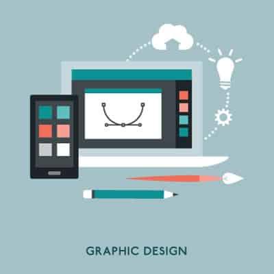 日系ビジネスのための米国進出グラフィックデザイン