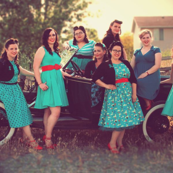 Battlin' Betties Vintage Shoot