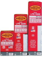 Can-Lite 9000 Plastic Filter w/out Flange – 500cfm