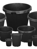 Gro Pro Premium Squat Nursery Pot – 3G