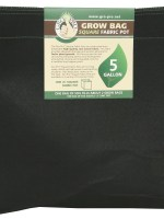 Gro Pro Square Fabric Pot – 5G