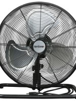 Hurricane Pro Metal Floor Fan – 12in