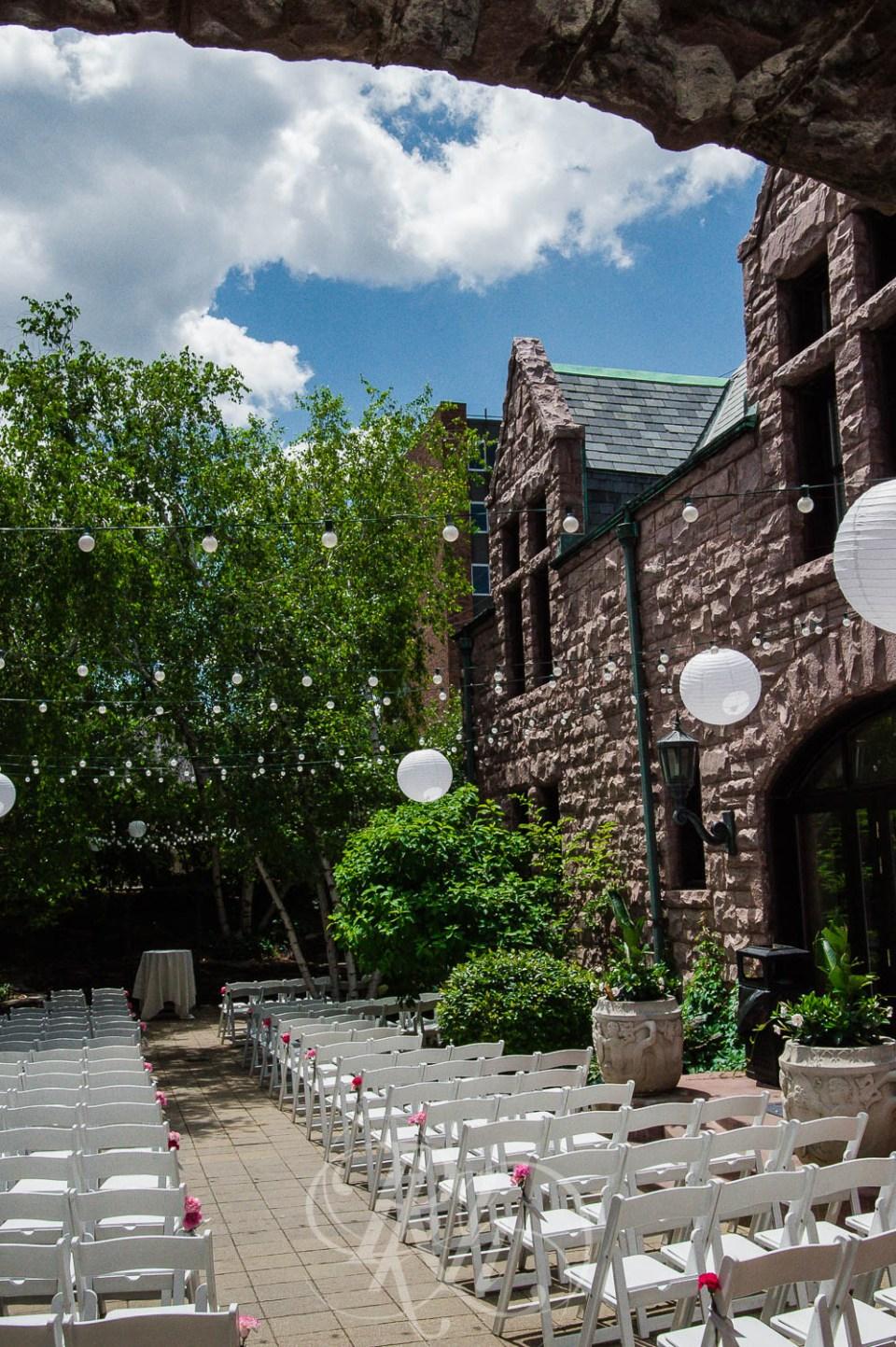 Van Dusen Summer Mansion Wedding