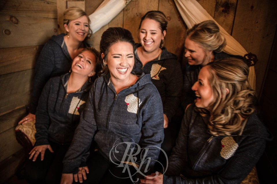 Bridal party Minnesota hoodies