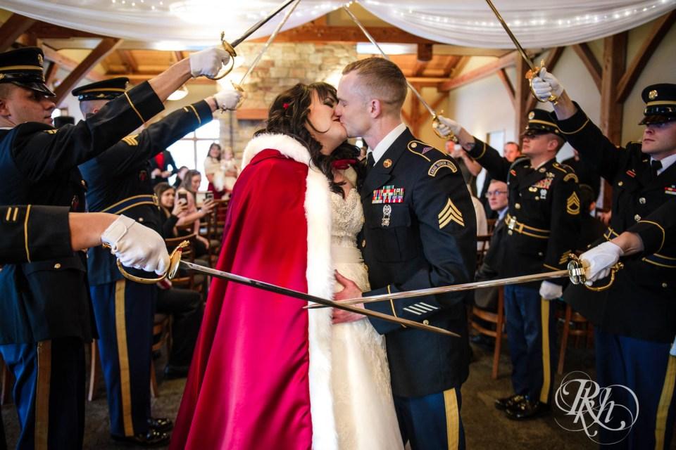 Military wedding Marines