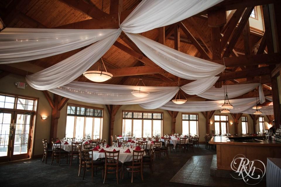 Refuge Golf Club wedding reception space