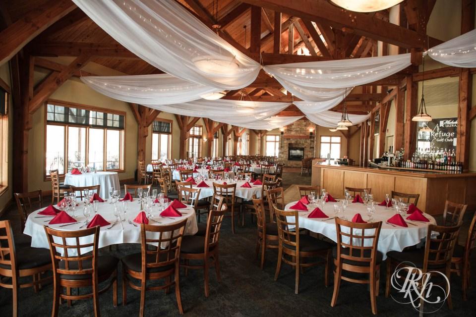 Refuge Golf Club reception space