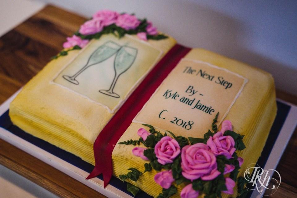 Book shaped cake
