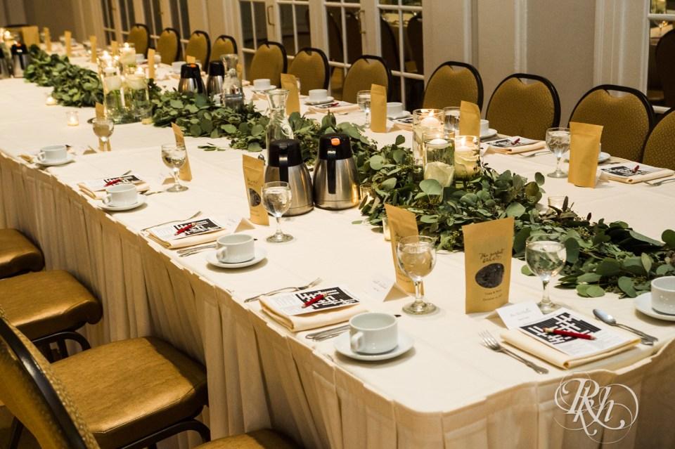Lafayette Club wedding head table