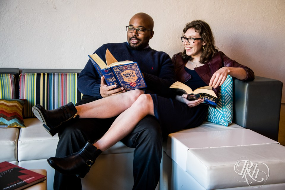 geeky engagement photography