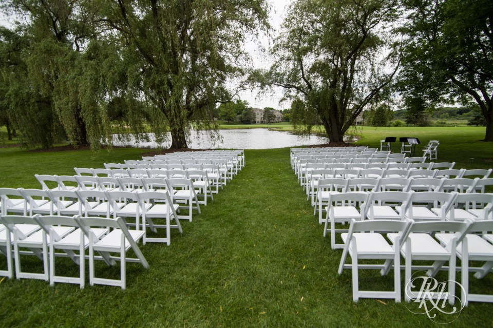 Oak Glen Golf Course outdoor ceremony