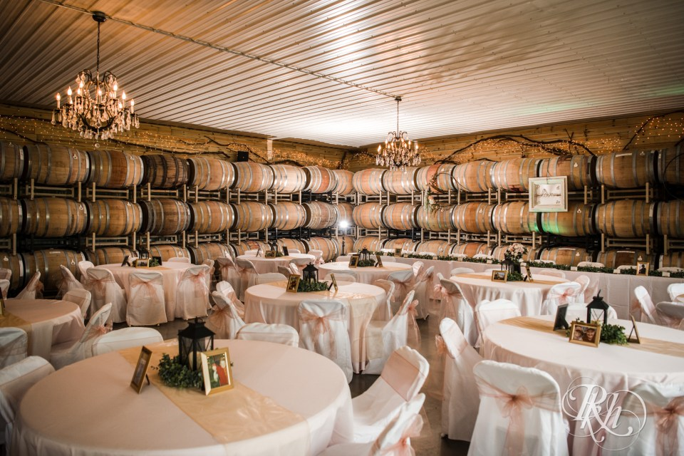 Next Chapter Winery dining room layout