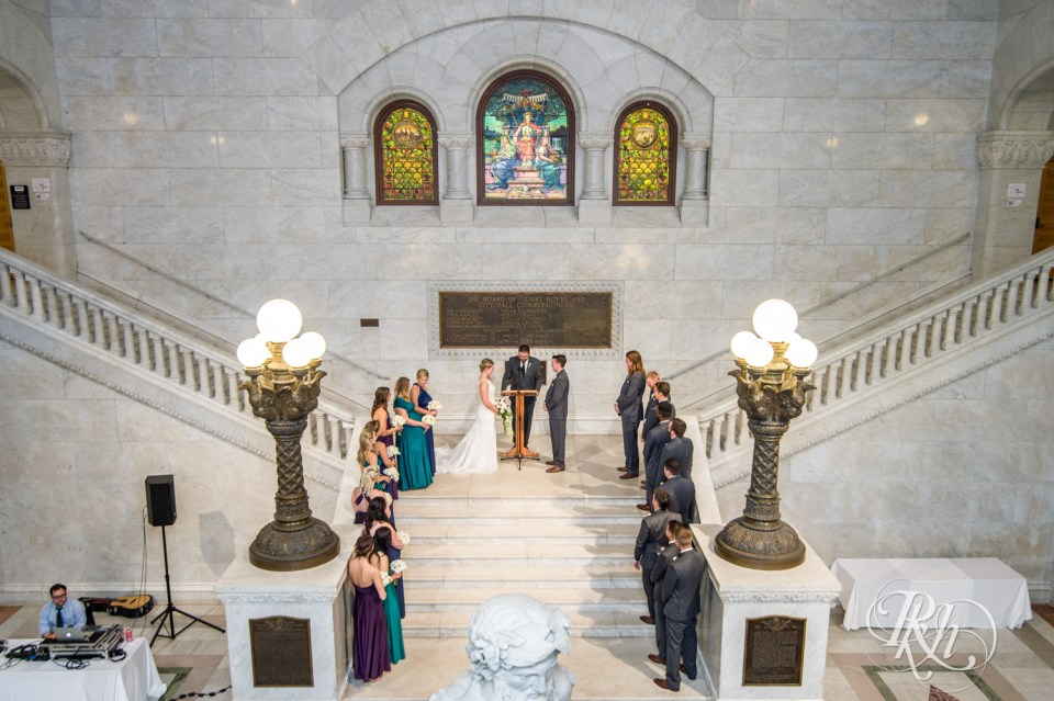 Minneapolis City Hall wedding