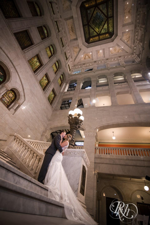 Minneapolis City Hall wedding photography