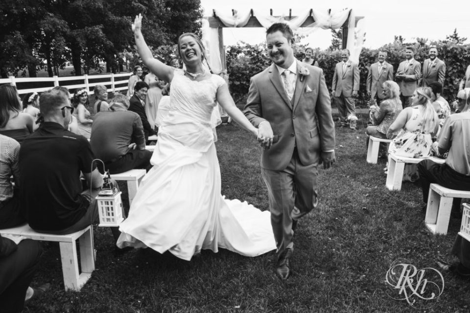 Best of 2019: Bride Dancing down the aisle