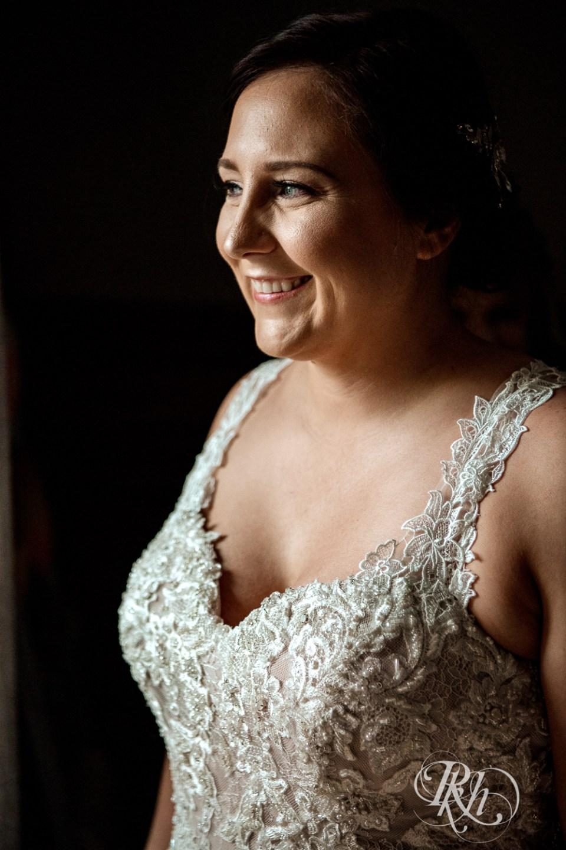 Cabin Wedding bride