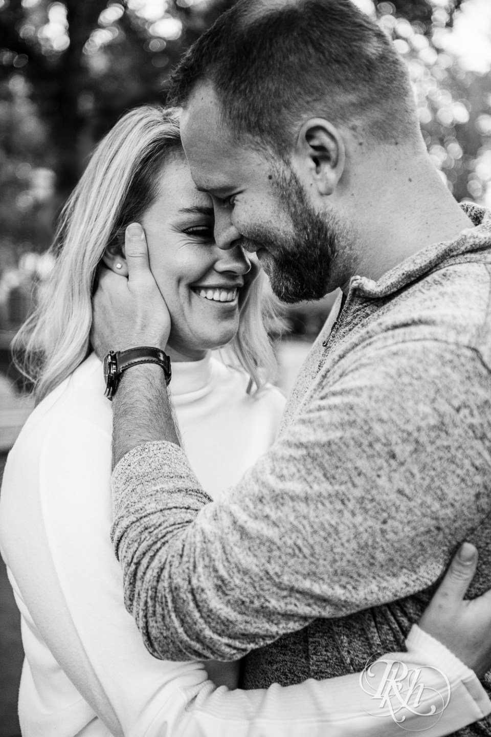 engagement photography smile