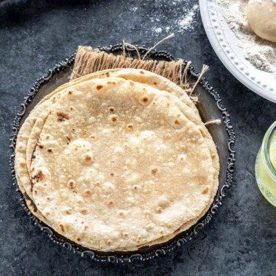Roti homemade whole-grain