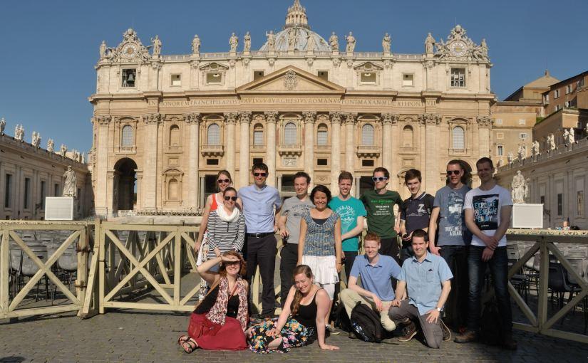 Op bedevaart naar Rome!