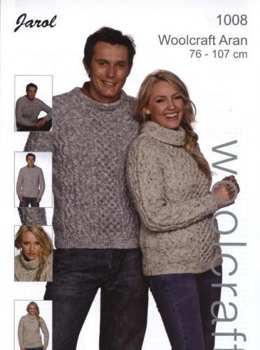 1008 Aran Men and Womens Sweater