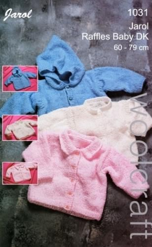 1031 DK Baby Cardigans and Sweater