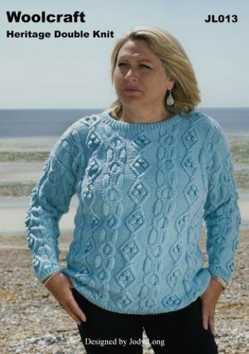 JL013 DK Womens Sweater