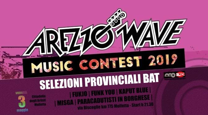 Arezzo Wave Music Contest Puglia. Provinciali BAT