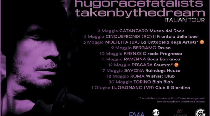 HUGO RACE in concerto a Molfetta