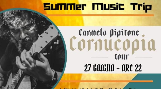 Carmelo Pipitone (Marta Sui Tubi, Ork, Dunk) live per l'Off Scene SMT alla Cittadella delle Arti di Modugno