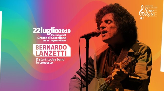Bernardo Lanzetti e Start Today Band in concerto! RKO in giuria
