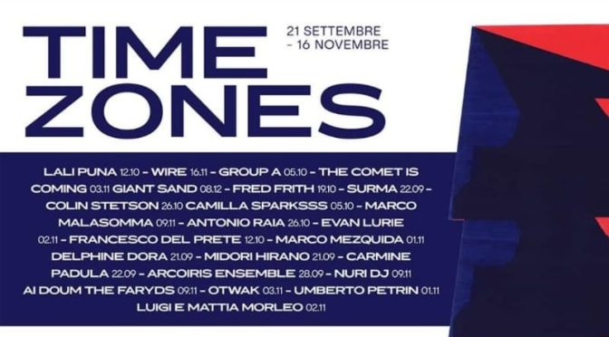 TimeZones Festival – 34^edizione