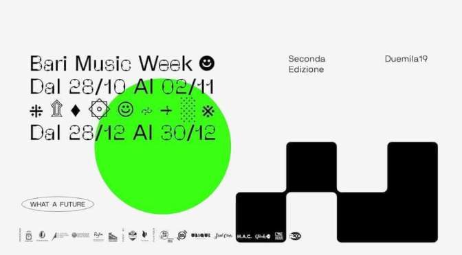 Bari Music Week 2019