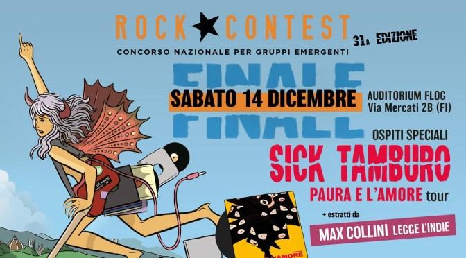 ROCK CONTEST: Il 14 dicembre alla Flog la finalissima del concorso che premia le migliori band emergenti d'Italia